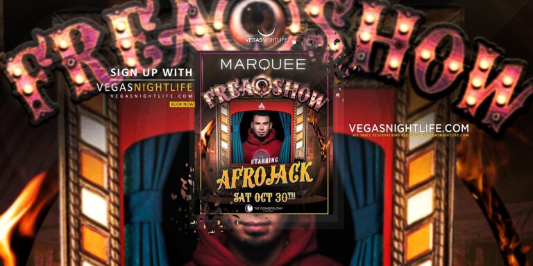 AfroJack | Halloween at Marquee Nightclub Las Vegas
