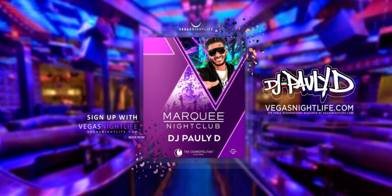 Marquee Las Vegas Night Club with Pauly D