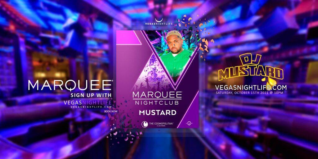 Marquee Nightclub Saturday with DJ Mustard