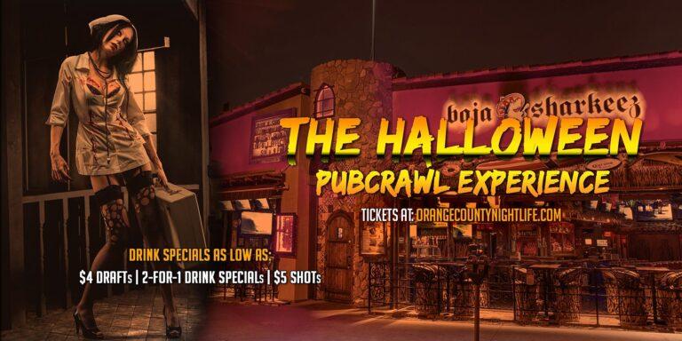 Newport Beach Halloween Pub Crawl - Saturday