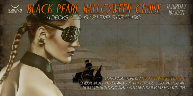 Black Pearl Boston Halloween Party Cruise
