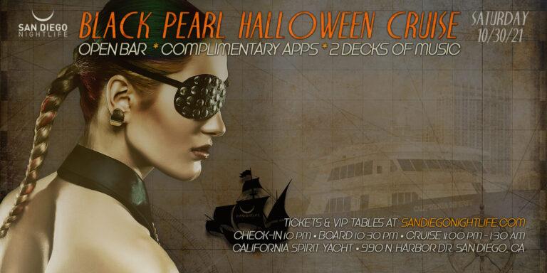 Black Pearl San Diego Halloween Cruise 2021