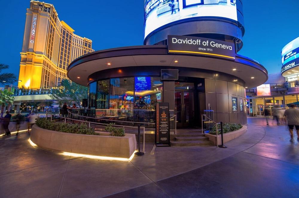 Davidoff of Geneva Cigar Bar Las Vegas