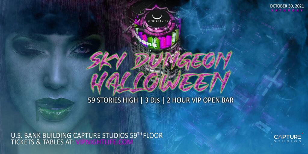 LA Halloween Sky Dungeon Costume Party