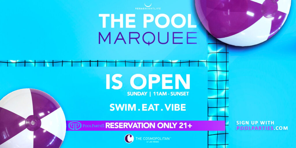Marquee Dayclub | Sunday Pool Party