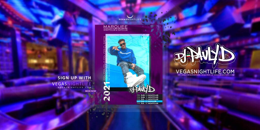 Marquee Nightclub Friday   DJ Pauly D