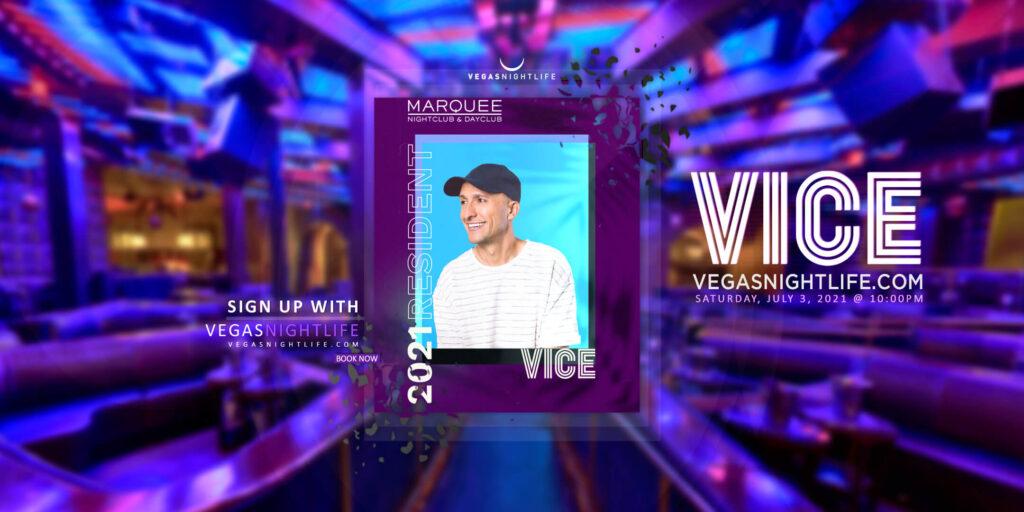 Marquee Nightclub   DJ Vice July 4th Saturday