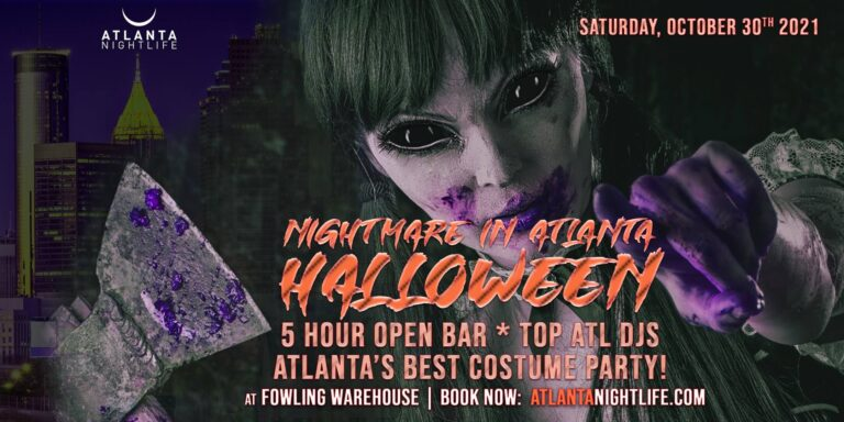 Nightmare in Atlanta Halloween Party