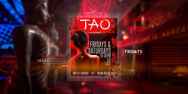 TAO Friday Night Las Vegas