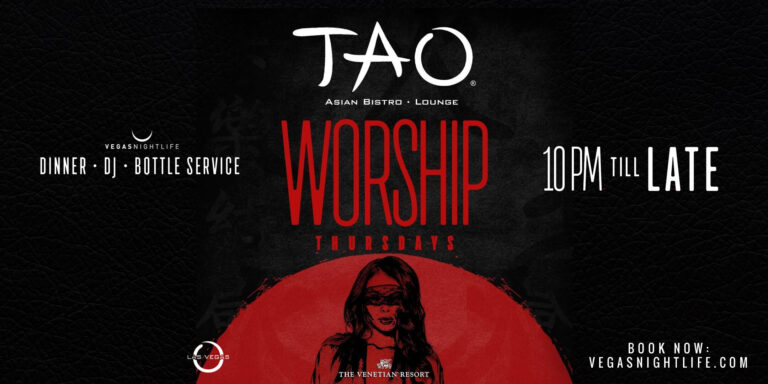 TAO Lounge Thursday Nights in Vegas