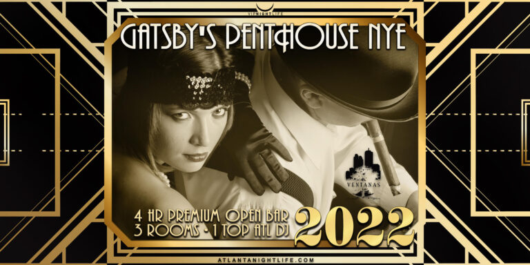 Gatsby's Penthouse - Atlanta New Year's 2022
