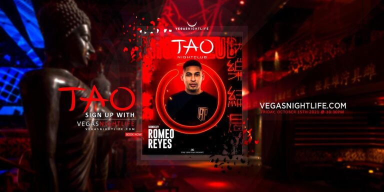TAO Nightclub Friday with Romeo Reyes